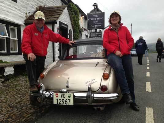 Frédérique Constant partenaire du Club Austin-Healey France sur le Rallye d'Ecosse
