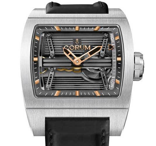 Corum Ti-Bridge Power Reserve Only Watch 2013