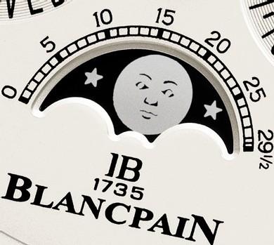 Blancpain : un Quantième Perpétuel avec correcteurs sous cornes… Inédit, pratique et esthétique