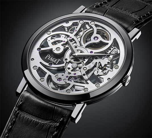 Piaget Altiplano Automatic Skeleton Only Watch 2013