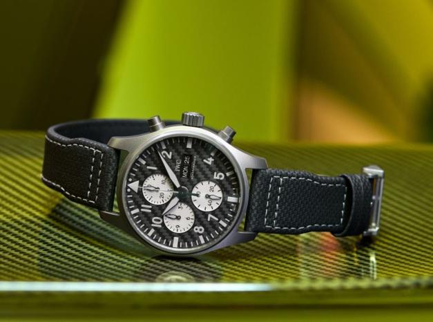 IWC Montre d'Aviateur Chronographe Edition AMG
