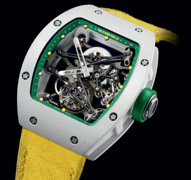 Richard Mille Prototype Tourbillon Yohan Blake