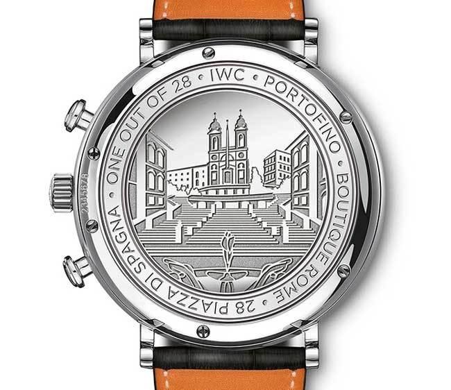 IWC Portofino Chronographe Piazza di Spagna