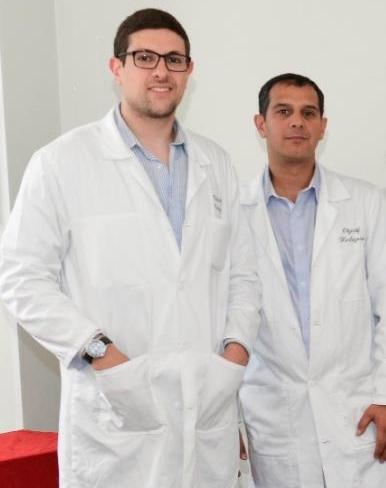 Samir Khemici et Kader Boudil