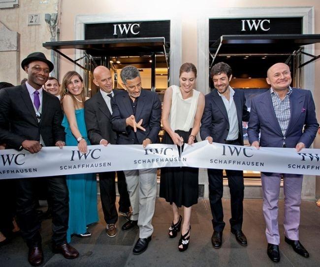 IWC inaugure sa première boutique exclusive à Rome