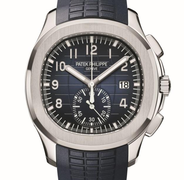 Patek Philippe : l'Aquanaut s'enrichit d'une version chrono flyback en or gris
