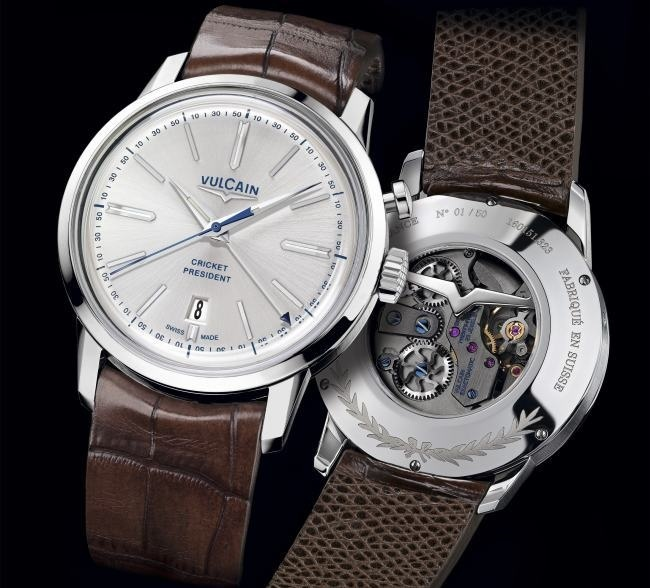Vulcain 50s presidents watch edition france french touch for Watches of france