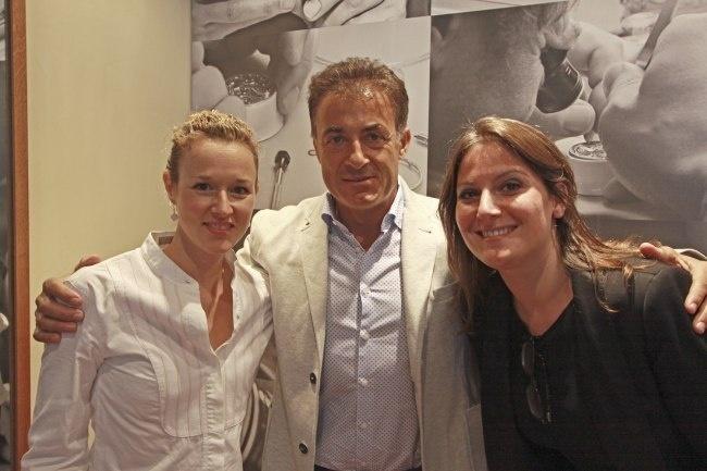 Jean Alesi en belle compagnie... de l'équipe Journe Paris