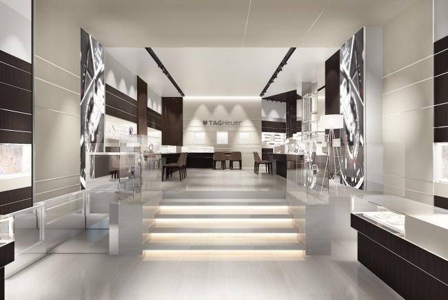 Tag heuer boutiques paris for Decorateur interieur paris luxe