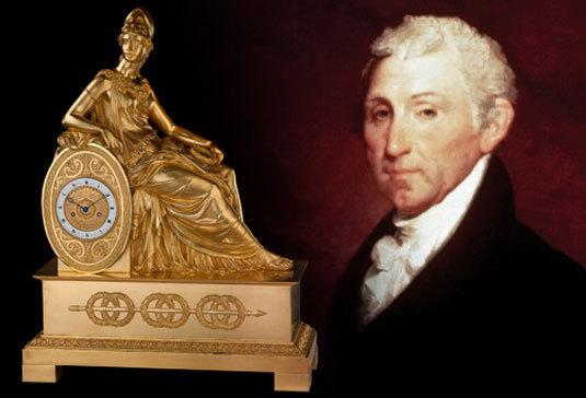 Une pendule Louis Moinet à la Maison Blanche