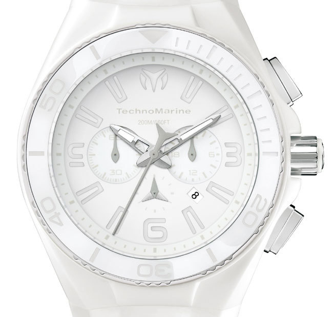 TechnoMarine Cruise White Vision