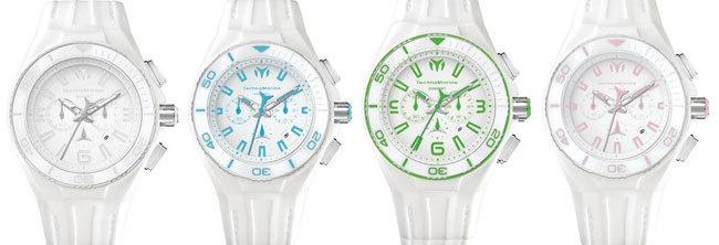 TechnoMarine Cruise White Vision : montre d'été