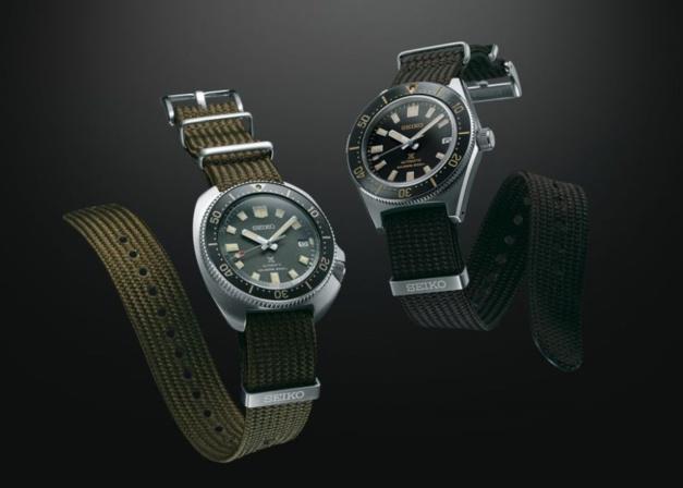 Seiko : deux bracelets Seichu tissés conçus pour la mer et ses Prospex
