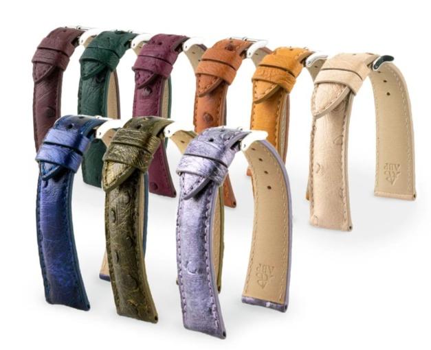 ABP Concept : toute une gamme de bracelets en autruche en prêt-à-porter