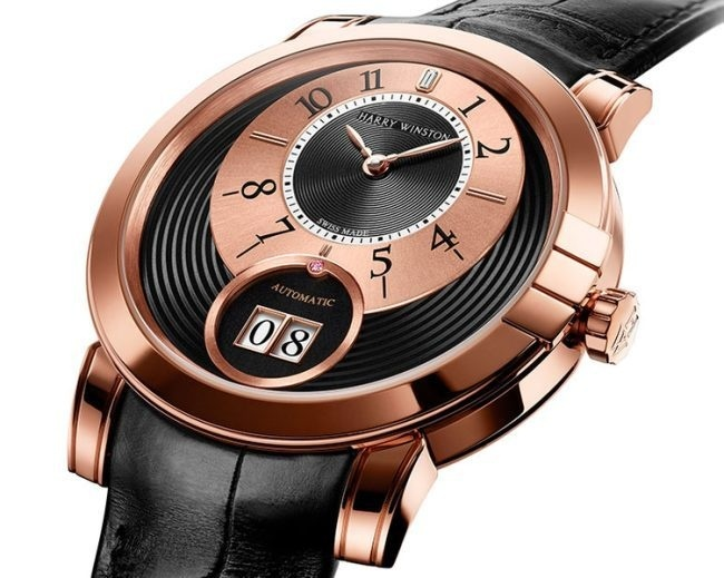 Harry Winston Midnight Big Date Only Watch 2013