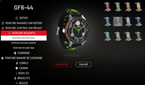 BRM : un tout nouveau configurateur pour une montre sur-mesure