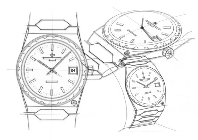 Vacheron Constantin 222 sketches