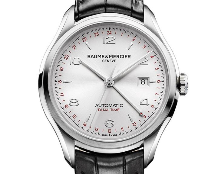 Baume et Mercier Clifton GMT acier