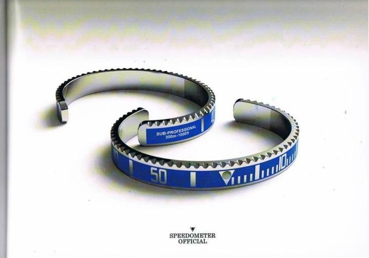 Speedometers bracelets
