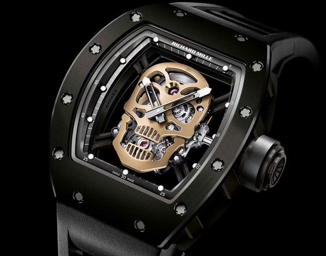 Richard Mille Tourbillon RM 52-01 Skull Nano-Ceramique