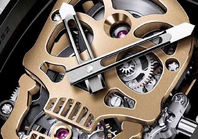 Richard Mille Tourbillon RM 52-01 Skull Nano-Ceramique