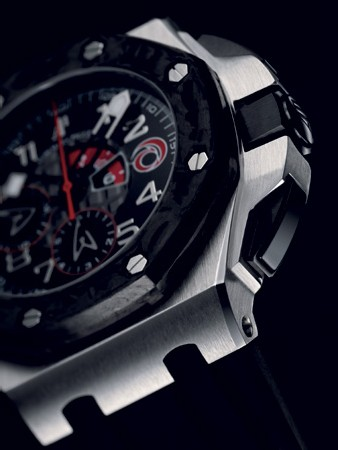 Chronographe Royal Oak Offshore Alinghi Team d'Audemars Piguet : une édition 2007 en carbone forgé