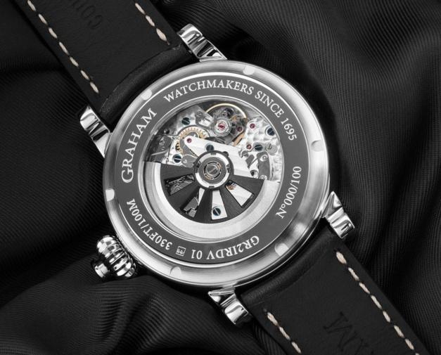 Graham Fortress : nouveau design pour son fameux chrono monopoussoir