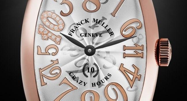 Franck Muller : une série limitée pour célébrer les dix ans de sa Crazy Hours