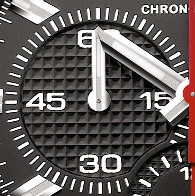 1911 BTR : chronographe automatique (détail)