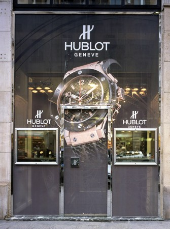 Boutique Hublot à Paris
