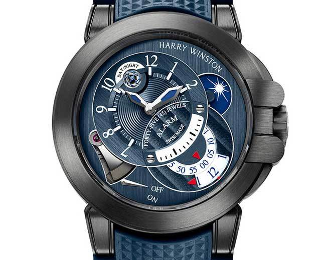 harry winston project z6 blue edition montre sport r solument haut de gamme. Black Bedroom Furniture Sets. Home Design Ideas
