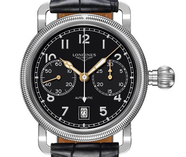 The Longines Avigation Oversize Crown