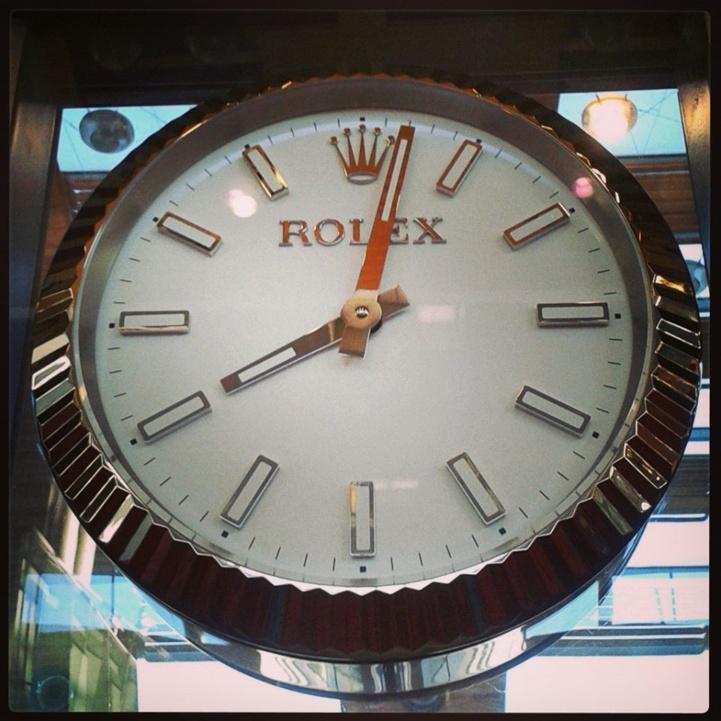 Horloge Rolex à Paris CDG