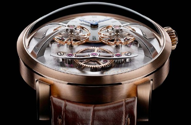 MB&F Legacy Machine 2 or rose