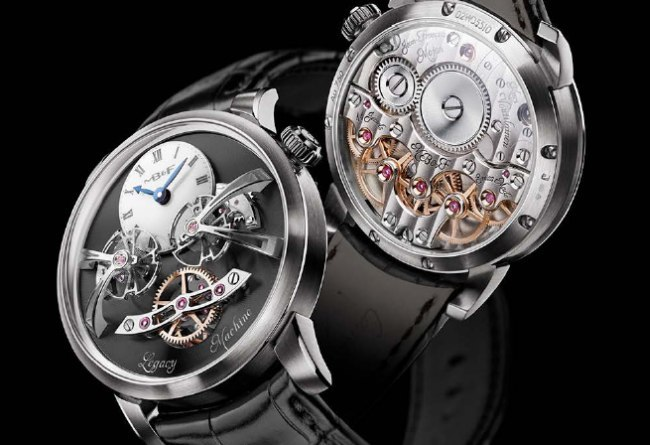 MB&F Legacy Machine 2 or gris