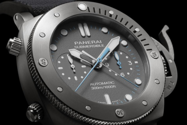 Panerai Submersible Chrono Flyback - J. Chin Edition : exclu US