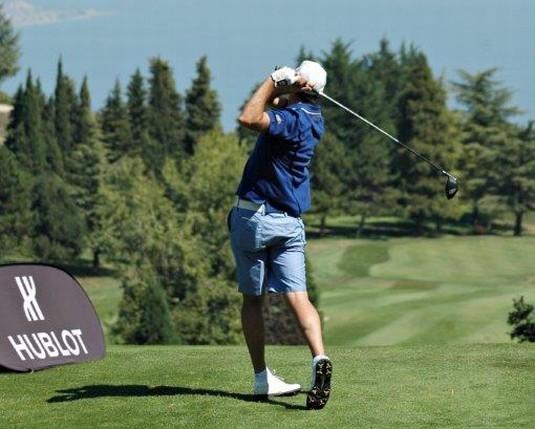 Hublot : partenaire du Tournoi de golf « Day of Legends »