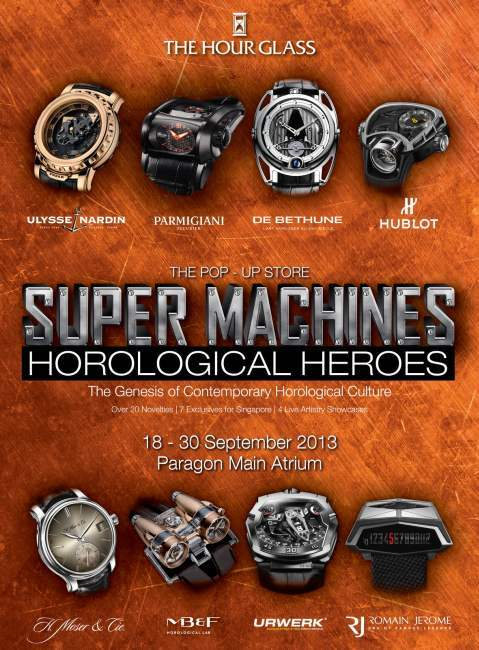 Super Machines & Horological Heroes