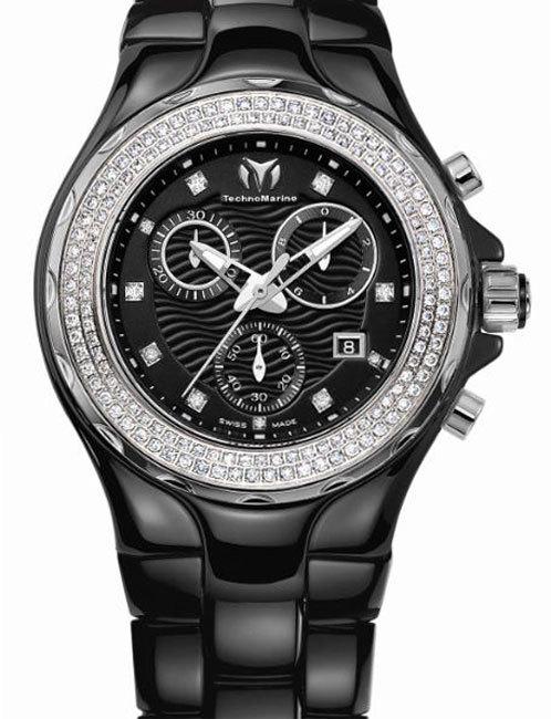 TechnoMarine Cruise Céramique : les diamants sont éternels