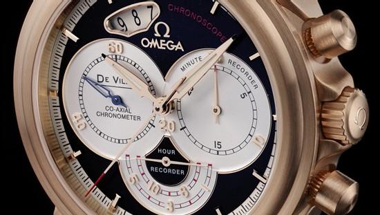 De Ville Co-Axial Chronoscope : Omega commence fort l'année 2007