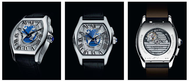 Cartier Tortue multi-fuseaux Photo 2000 © Cartier 2012