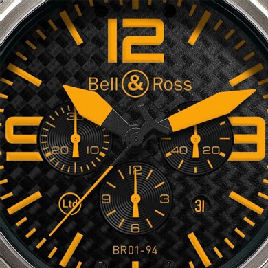Instrument BR 01-94 Titanium Orange de Bell & Ross