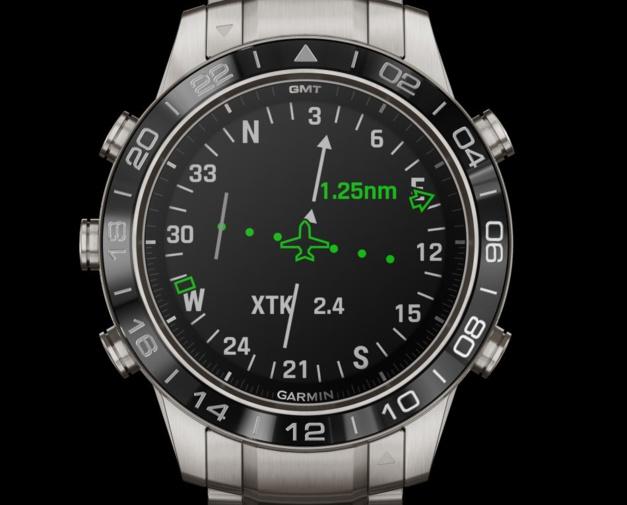 Garmin MARQ Aviator : la montre connectée taillée pour l'aérien et les cockpits