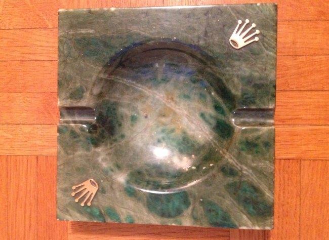Cendrier carré Rolex