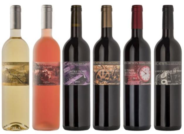 """Les vins """"Les Temps"""" domaine Les Crêtets"""