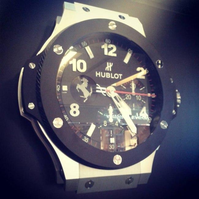 Horloge Hublot Singapour