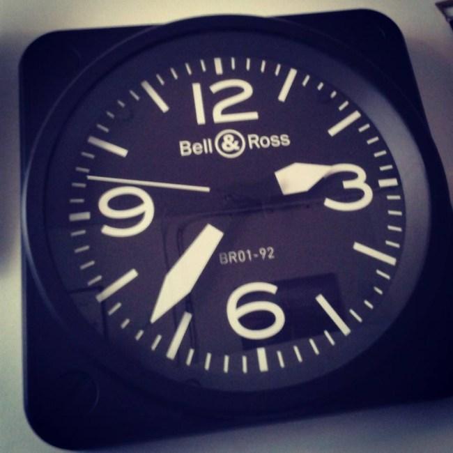Horloge Bell & Ross Paris