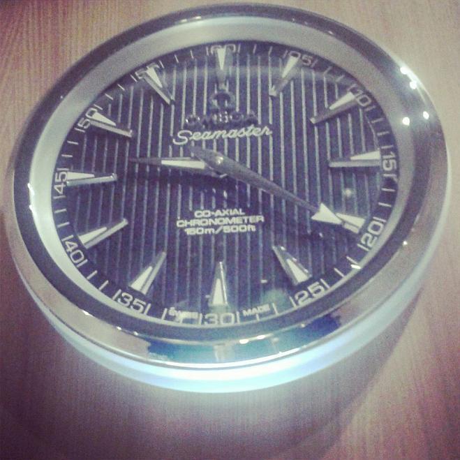 Horloge Omega Singapour