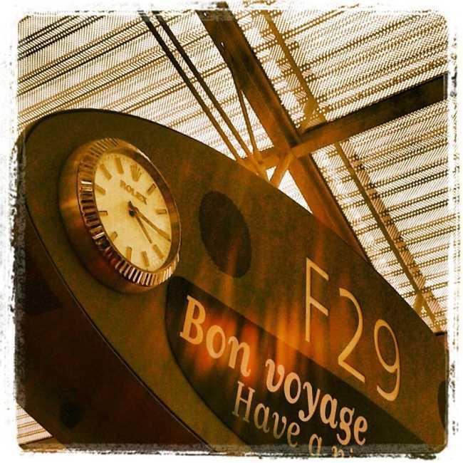 Horloge Rolex Paris CDG