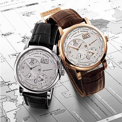La Lange 1 Fuseaux Horaires de Lange & Söhne : toutes les heures du monde